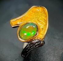 Opál köves gyűrű