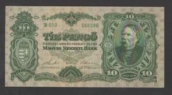 10 pengő 1929. EF!!  GYÖNYÖRŰ!!  RITKA!!