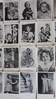 Shirley Temple sztárfotók 39 db +1