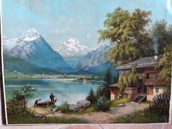 Nyomat/ Achen See/ Ausztria