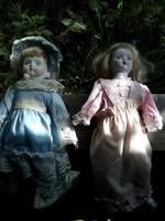 Porcelán babák.
