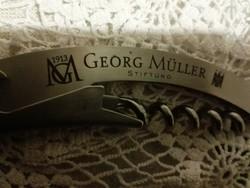 Antik, 1913 George Müller felírattal, bicska dugóhúzó sörnyitó.Rozsdamentes acél.