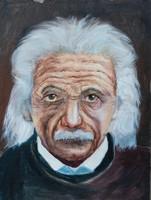 Olaj portré 40 cm x 30 cm