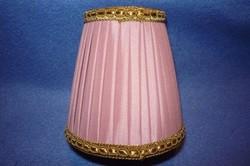 Kisméretű rózsaszín lámpaernyő