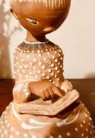 Kovács Margit (1902-1977): Olvasó lány szobor elado