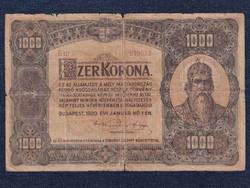 Nagyméretű Korona Államjegy 1000 Korona 1920(id16343)