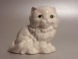 Goebel porcelán cica macska ajándék kutyus forma síppal