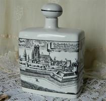 Altenkunstadt Germany porcelán ital tartó, München látképpel
