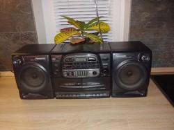 Panasonic RX-DT600 rádiós magnó és CD   működő régiség