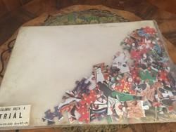 Triál Bontatlan 120 darabos Puzzle az 1970-es évekböl