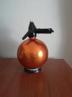 Retro gömb alakú szódás szifon