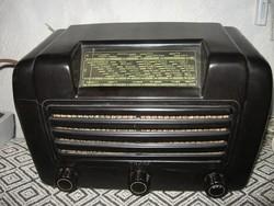 Antik ,  csöves   rádió    Tesla Talisman 305 U 1946 - os .