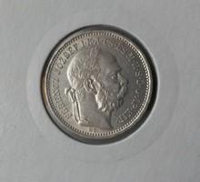 ★1893 Ferenc József 1 Korona KB★