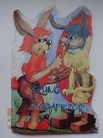Bíró Erika: Brúnó, a csodapiktor - régi mesekönyv, nyuszis mese Gelléri István rajzaival