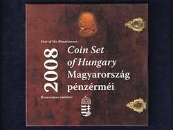 2008-as BU forgalmi sor - Reneszánsz emlékév Hunyadi ezüst fantáziaverettel / id 8966/