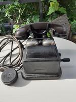 Tekerős telefon antik