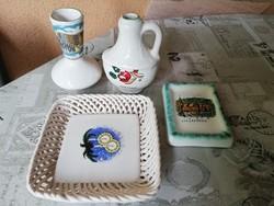 Bodrogkersztúri kerámiák-Hajdúszoboszló-Berekfürdő-Lilafüred