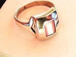 Ezüst gyűrű macskaszem ásvánnyal