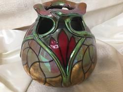 Zsolnay  tiffany váza