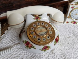 Royal Albert Old Country Roses porcelàn telefon