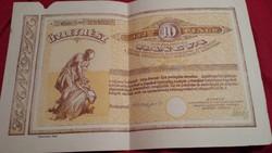Hangya kötvény betétlappal