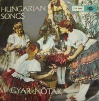 Hungarian Songs - Magyar Nóták bakelit lemez