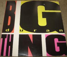 MINTAPÉLDÁNY DURANDURAN : THE THING magyar 1988 bakelit lemez