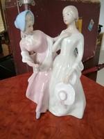 Royal Dux figurális porcelán