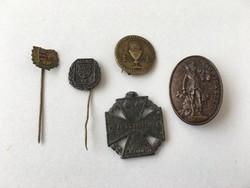 Jelvény, kitűző, kitüntetés, 1848