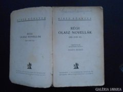 Régi olasz novellák (XIII-XVIII. sz.)