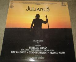 MINTAPÉLDÁNY JULIANUS : KOLTAY GÁBOR FILMJE  1991 bakelit lemez
