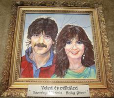 MINTAPÉLDÁNY Eszményi Viktóris és Heilig Gábor : Veled és nélküled 1986 bakelit lemez