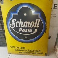 Schmoll pasta nagy zománc tábla