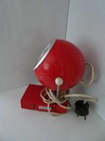 Retro asztali gömb lámpa