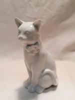 Ritkább Herendi porcelán macska, cica
