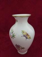 Herendi porcelán, Viktória mintás váza, magassága 23 cm.