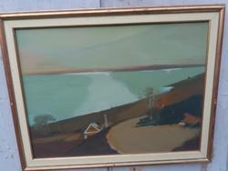 Naggy Ernő Sándor képcsarnokos festménye