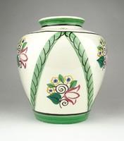 1A615 Régi Fischer Emil kerámia váza 16.5 cm
