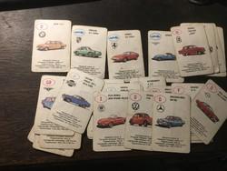 Autókártyák / retro