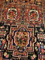 Antik Kézi Csomózású Bakhtiar Perzsaszőnyeg 160x350
