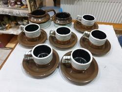 Kovács Éva kávés készlet