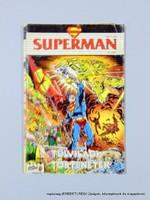 1991 július  /  SUPERMAN  /  Régi ÚJSÁGOK KÉPREGÉNYEK MAGAZINOK Szs.:  14027