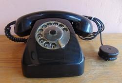 Retro tárcsás asztali telefon, 1973