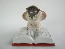 Drasche porcelán tudós bagoly