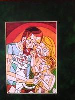 Józsa János festőművész Család