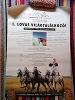 I. Lovas Világtalálkozó 1996 plakát