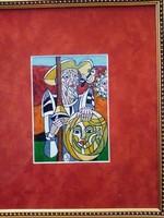 Józsa János festőművész Don Quijote