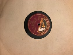 Gramofon lemez 78 speed HU207