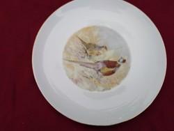 1244-Süt4  Eschenbach tányér 24 cm fácán motívummal.