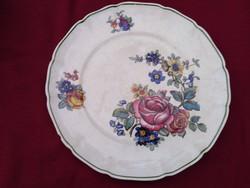 G01 Antik Villeroy & Boch tányér 24 cm csodálatos virágminintával.